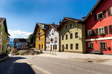Werfen village in Austria