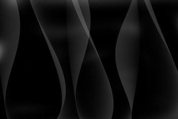 Abstract background blackmodern technology geometrically.