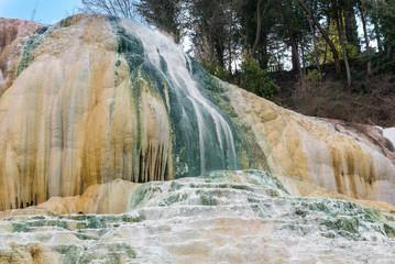 Hot Springs of Bagni San Filippo, Italy