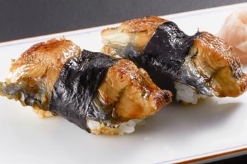 鰻の握り寿司 (eel)