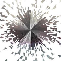 Bright polygon background