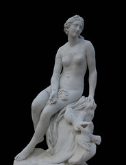 Medieval marble sculpture of Aphrodite, goddess of love, Sanssouci (1748-1750)