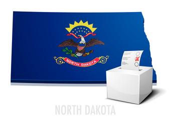 Ballotbox Map North Dakota