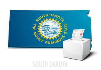 Ballotbox Map South Dakota