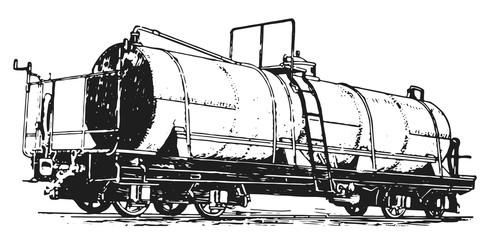 rail carriage railway #vector #isolated - Eisenbahnwaggon Eisenbahn Waggon