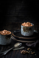 Vegan walnut pate spread