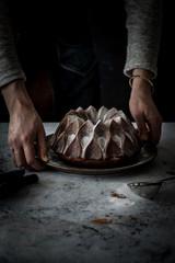 Delicious bundt cake