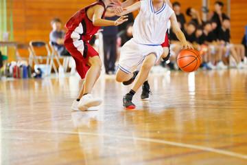 バスケットボールの試合