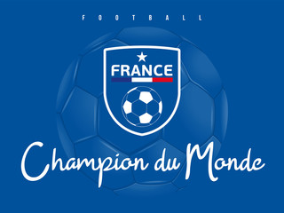 FOOTBALL FRANCE - Champion