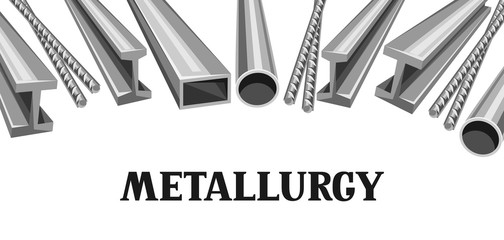 Rolled metal products banner.