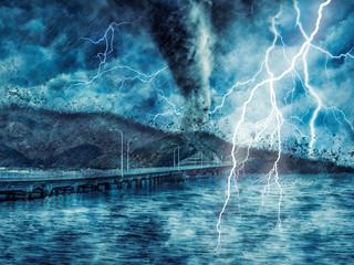 Photo sur Plexiglas Tempete storm