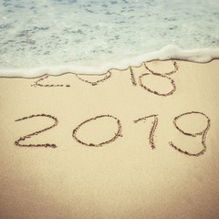 Silvester 2018 / Neujahr 2019 vintage
