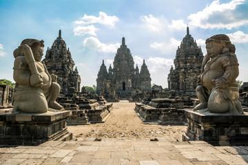 Papiers peints Con. ancienne ruins of prambanan temple in Yogyakarta, Indonesia