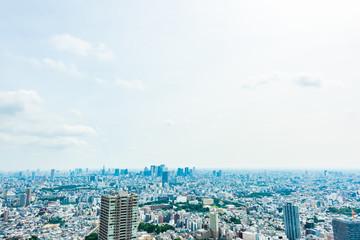 東京の都市風景 Tokyo city skyline in Ikebukuro , Japan