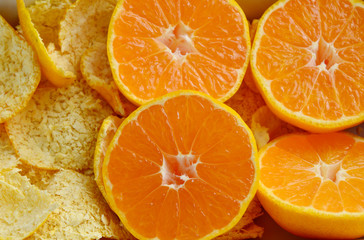 Clementines,orange or citrus with Peels for Homemade air freshener and other. Ways to Use Orange Peels for Home and Health