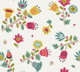 Floral seamless pattern 2