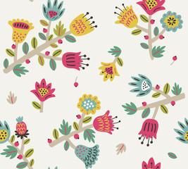 Floral seamless pattern 2