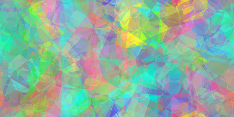 pastel polygons abstract seamless tile