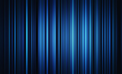 Blue lights for futuristic background. Internet concept, movement motion blurry technology background. 3d illustration.
