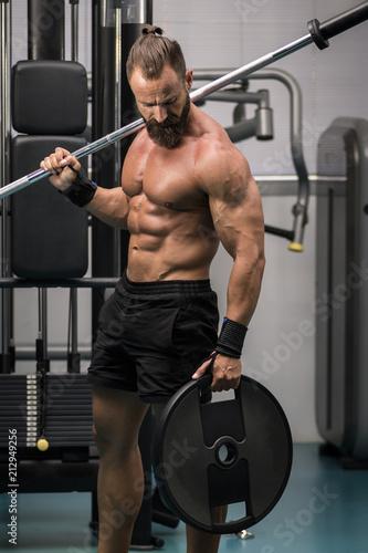 Entrenamiento para fitness hombres