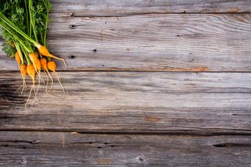 heirloom organic miniature carrots