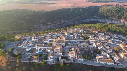 Alarcon, Cuenca (España) a vista de drone