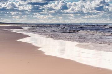 plaża w Zatoce Gdańskiej