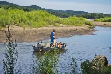 Rural Life and Fishing.