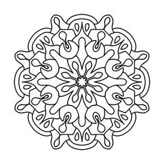 mandala logo design  mandala pattern vector