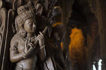 Temple of Thailand, Sanctuary of Truth, (Prasat Sut Ja-Tum)