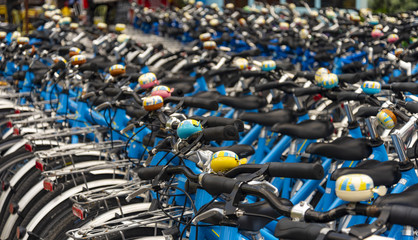 Rental bikes for hire in London