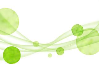 エコロジー 曲線模様 抽象 エコ フレーム 抽象模様