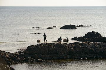 福井県坂井市の海女漁