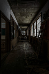 Japanese abandoned school
