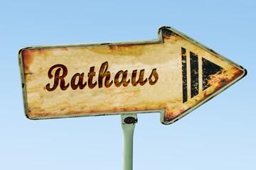 Schild 328 - Rathaus