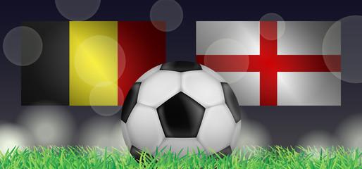 Fußball 2018 - Kleines Finale (Belgien vs England)