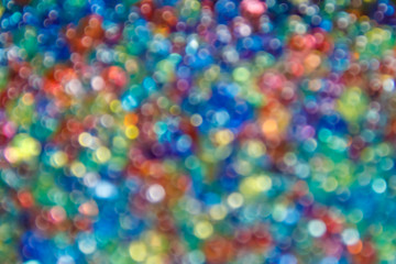 Blurred multicolored abstract background