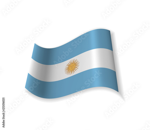 The Flag Of Argentina Country In South America National Symbol