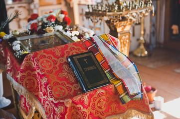Beautiful decor of the Orthodox Church 1344.