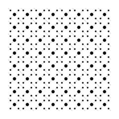 Geometria astratto texture monocromatico bianco e nero puntini design vettoriale linea cerchio mattonella