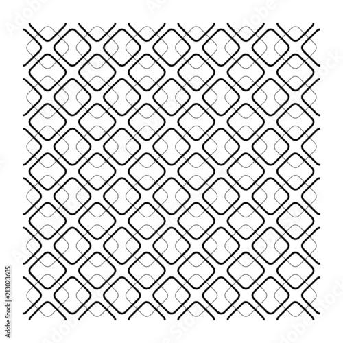 Texture Geometrica Quadrato Linea Vettoriale Griglia Design Senza