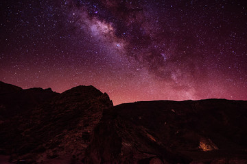 Astrophotography Milkyway in Tenerife