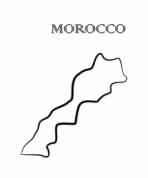 the Morocco map