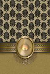Wall Mural - Vintage luxury background.