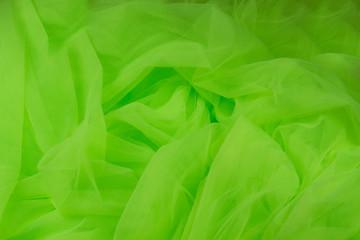 Mesh tulle green