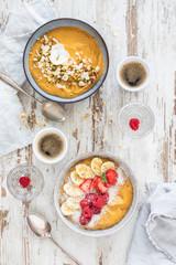 Vegan sweet potato breakfast bowl