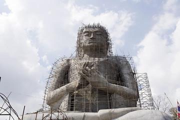 Big Buddha Statue Under Construction