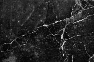 Black dark marble texture background closeup. Grunge stone surface