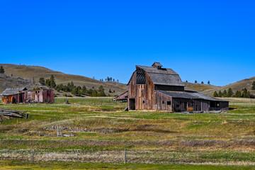 Old Vintage Wooden Barn