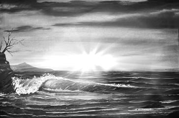Gemälde Meer
